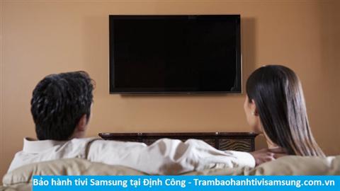 Bảo hành sửa chữa tivi Samsung tại Định Công