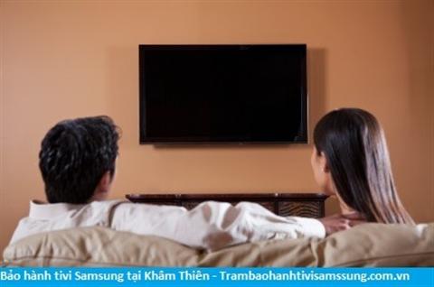 Bảo hành sửa chữa tivi Samsung tại Khâm Thiên