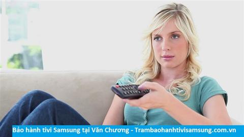 Bảo hành sửa chữa tivi Samsung tại Văn Chương