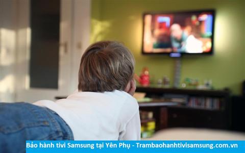 Bảo hành sửa chữa tivi Samsung tại Yên Phụ