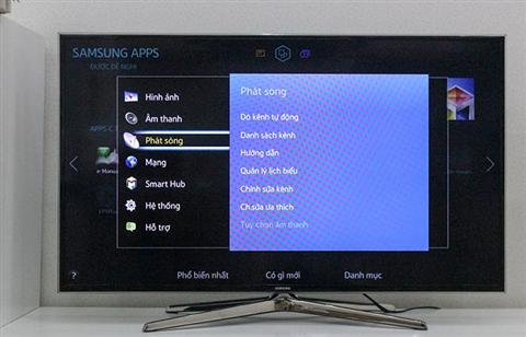Cách dò kênh tivi Samsung đơn giản chỉ với 4 bước