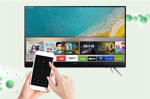 Hướng dẫn sử dụng iPhone điều khiển Tivi Samsung