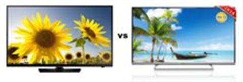 So sánh Tivi LED Toshiba 39L4300 và Samsung UA40H5003