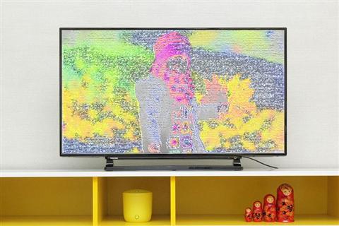 Tivi bị sọc ngang màn hình và cách sửa