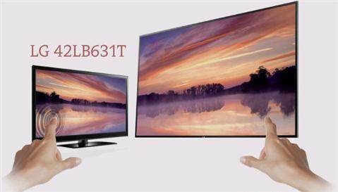 Smart TiVi LED LG 42LB631T xóa nhòa rào cản giải trí