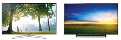 So sánh TiVi LED KDL-48R470B và SmartTV Samsung 48H6400