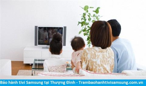 Bảo hành sửa chữa tivi Samsung tại Thượng Đình