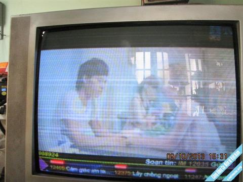 Tivi CRT bị sọc ngang nguyên nhân và cách khắc phục