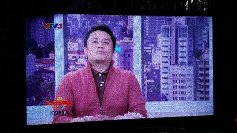 Tivi Samsung bị nhòe màn hình