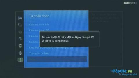 Tivi Samsung không bắt được Wifi, không vào được mạng và cách khắc phục