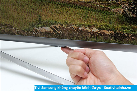 Lỗi tivi Samsung không chuyển được kênh
