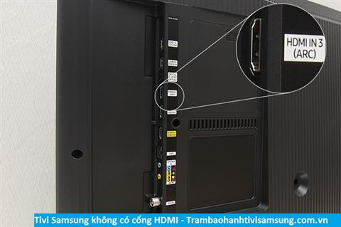 Tivi Samsung không nhận địa chỉ HDMI