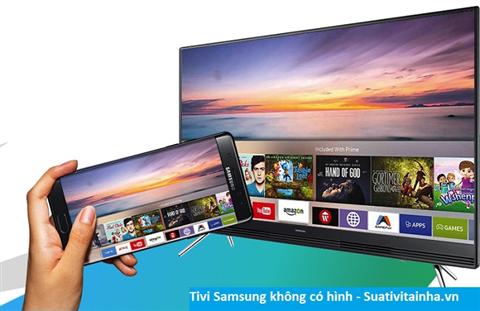 Tivi Samsung không có hình
