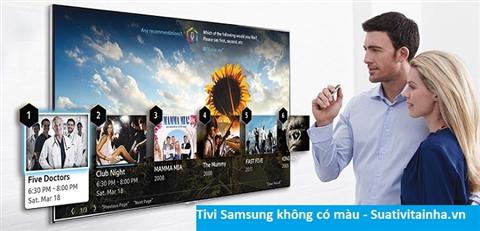 Tivi Samsung bị nhòe màu