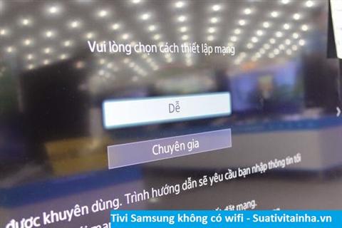 Tivi Samsung không có wifi