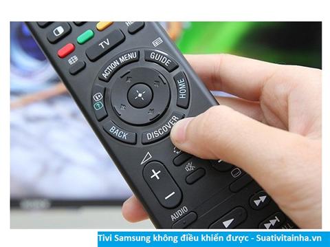 Nguyên nhân tivi Samsung không điều khiển được