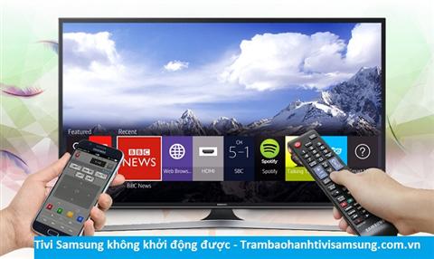 Tại sao tivi Samsung không khởi động được