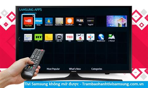 Tivi Samsung không mở được