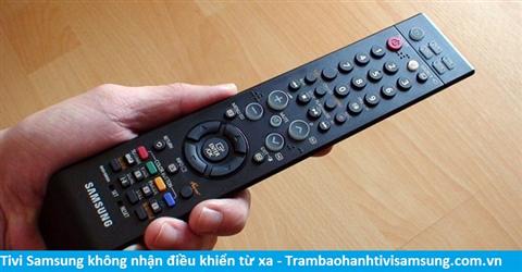 Tivi Samsung không nhận điều khiển từ xa