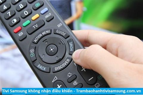 Tivi Samsung không nhận điều khiển