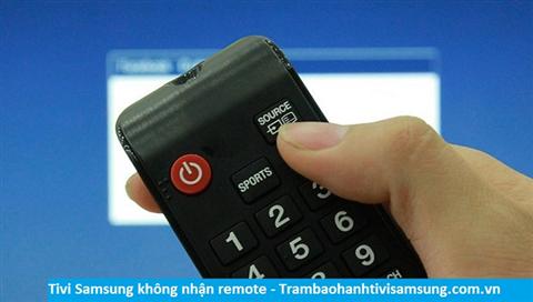 Tivi Samsung không nhận tín hiệu remote