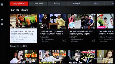 Cách khắc phục Lỗi youtube trên tivi samsung