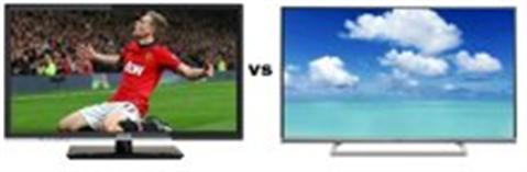 So sánh dòng Tivi LED tầm trung Darling 50HD900T2 và Panasonic TH-42AS620V
