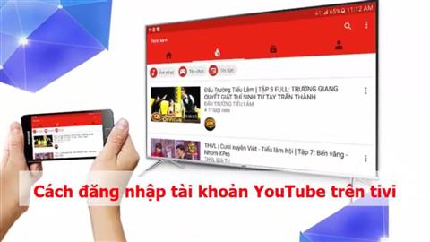 Cách khắc phục tivi Samsung không vào xem được Youtube